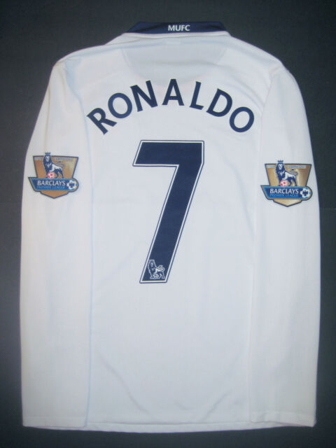 2008-2009 Nike Manchester United Cristiano Ronaldo Long Sleeve Jersey Shirt Kit