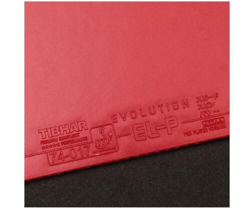 Tibhar Evolution EL-P Table Tennis Ping Pong Rubber Sponge