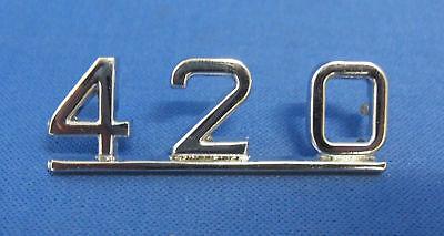 """JAGUAR /""""badge coffre 420/"""" fits 420 /& 420g bd29947"""