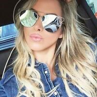 Super Hot Open Wire Aviator Silver Mirror So Technologic Real Sunglasses 10099 L
