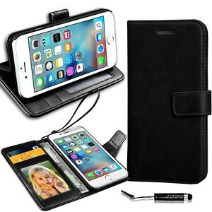 New-Rich-Luxury-Leather-Wallet-Flip-Case-For-Various-Smart-Phones-Mini-Stylus
