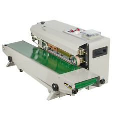 Automatic Horizontal Continuous Bag Band Sealer Sealing Machine Package Plastic