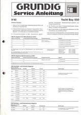 Grundig Service Manual für Yacht-Boy 650