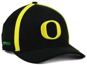 0faf791b299 Details about NWT - NIKE Oregon Ducks NCAA Aerobill Sideline Coaches Cap DRI -FIT Black Cap Hat