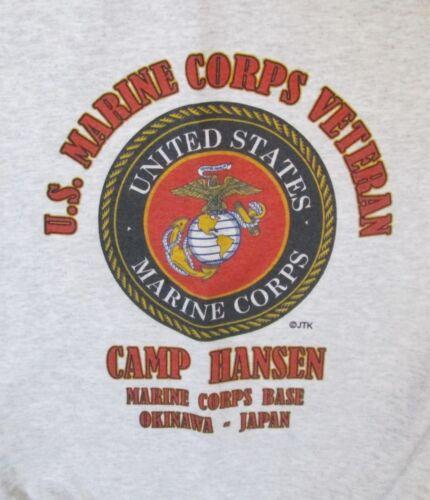 CAMP HANSEN MARINE CORPS BASE*OKINAWA-JAPAN EMBLEM SWEATSHIRT
