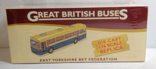 4 655 129 Scellé Atlas 1:76 GREAT BRITISH BUS East Yorkshire Bet FEDERATION