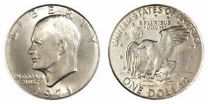1971-D  Brilliant  Uncirculated Eisenhower US Dollar