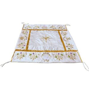 Image is loading Processional-Eucharistic-Canopy -used-in-Liturgical-Church-Processions  sc 1 st  eBay & Processional Eucharistic Canopy used in Liturgical Church ...