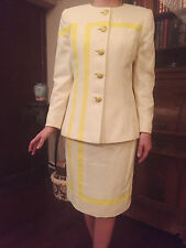 Vintage Couture Suit designed by Travilla, dress maker to Marilyn Monroe.