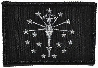 Indiana State Flag -  3x2 Hat Patch