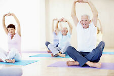 YOGA FOR MATURE ADULTS GENTLE FITNESS WORKOUT WEIGHT LOSS DVD EXERCISE BEGINNERS