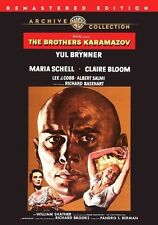 The Brothers Karamazov 1958 (DVD) Yul Brynner, Maria Schell, Claire Bloom - New!
