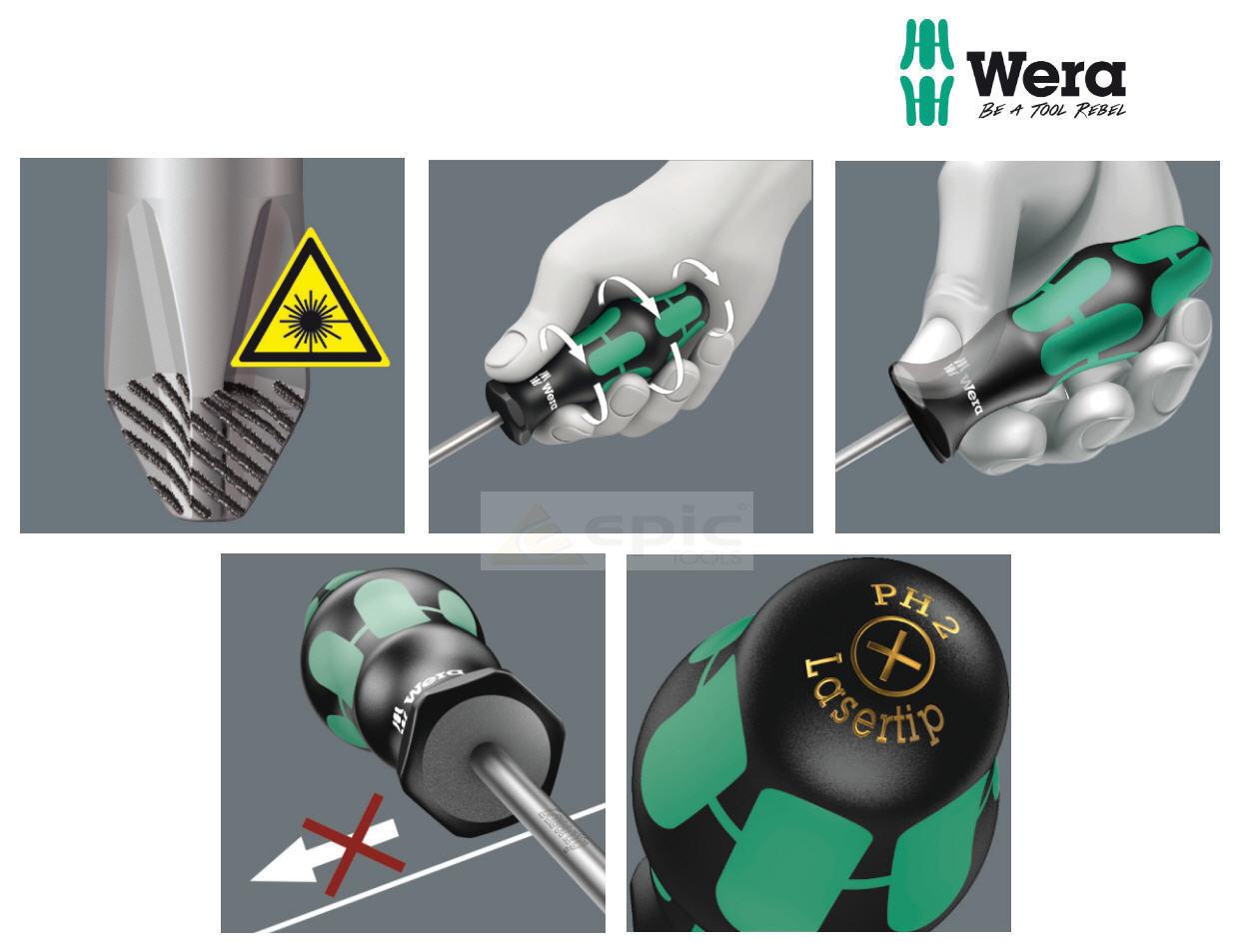 Wera WER008735 Kraftform 350 Screwdriver Phillips Tip PH3 x 150mm