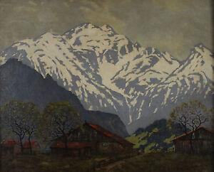 Alfred-Streubel-1861-High-Mountain-Landscape-Alps