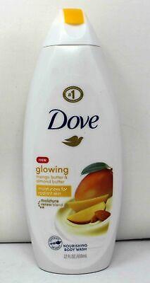 Dove Glowing Mango Butter Almond Butter Nourishing Body Wash 22 Ounce 11111016408 Ebay