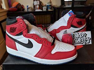 d8b6c2ffddbea2 Nike Air Jordan Retro I 1 High OG Origin Story Spider Man Gym Red ...