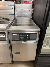 Pitco Model Sg14 Js Open Fryer Natural With Filtration