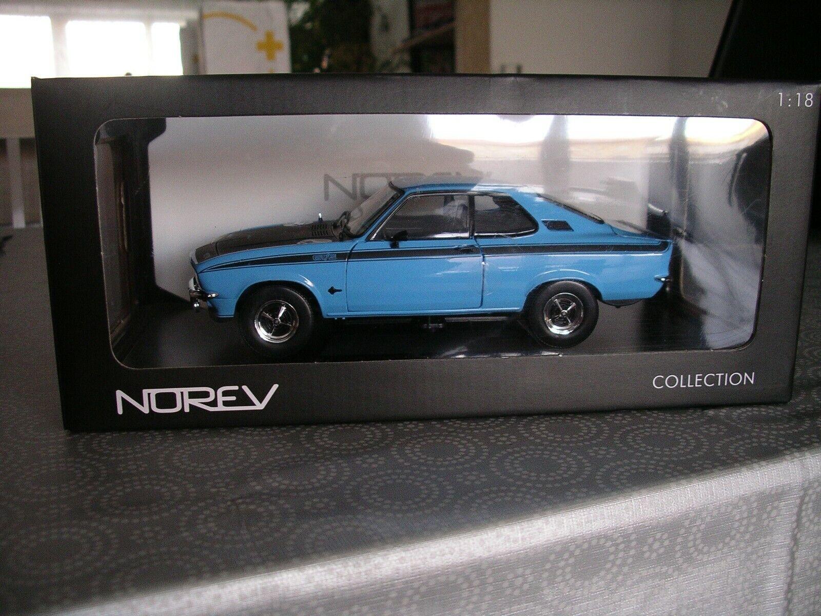 Miniature OPEL  hommeTA GT E bleu 1 18 NOREV  nouveau sadie