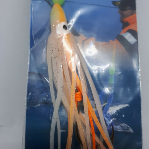 Behr Muppets Octopus Squid Sea Lures 2//0 Glo Or UV Active