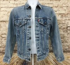 Levi's Denim Jacket Women's Blue Multi Pockets Size XS Extra Small