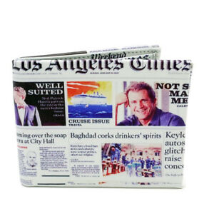 Los-Angeles-Times-Newspaper-Design-Leather-Foldable-Wallet