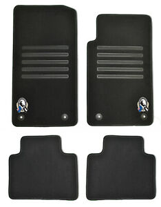 Genuine-Holden-VF-Collingwood-Floor-Mats-Front-Rear-Black-Sedan-Wagon-Commodore