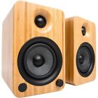 Kanto YU4 Wireless Bluetooth Speaker System 140W - Bamboo