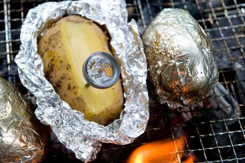 SUNARTIS 2 Stk Kartoffel Thermometer Folienkartoffel Ofenkartoffel Baked Potato