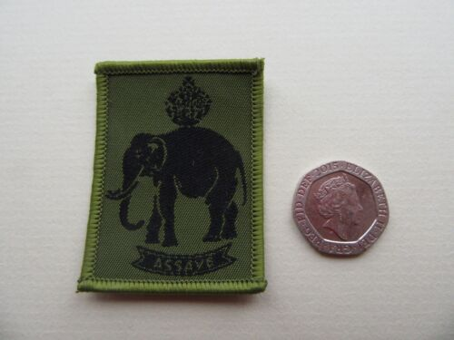 Java Assaye /& Seringapatam China New unused. Royal Artillery Battery Patches