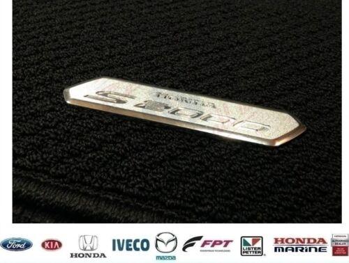 Genuine HONDA S2000 Premium Tapis de sol 4 pièces noir main droite conduire JDM UK