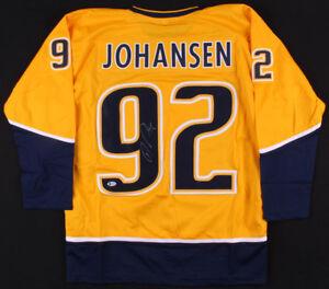 85af0aaa Image is loading Ryan-Johansen-Signed-Predators-Jersey -Beckett-COA-Nashville-