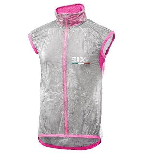 VEST windproof Bike Cycling Bike SIXS 100%  pink PINK FLUO GHOST vest