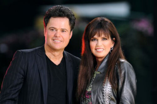 Donny And Marie Osmond Poster #01 24x36