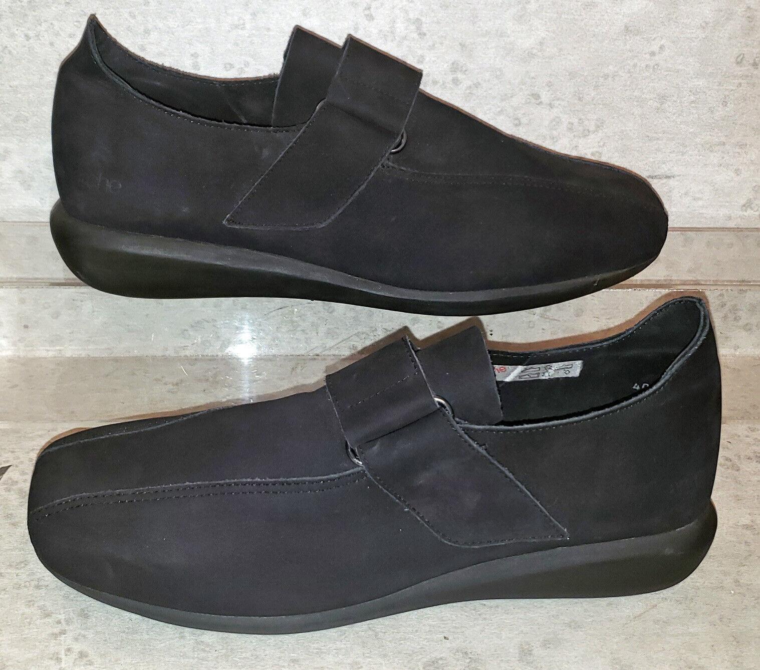 Arche walking shoes black nubuck comfort shoes eu 40 us 9