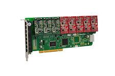 OpenVox A800P35 8 Port Analog PCI Base Card + 3 FXS + 5 FXO, Ethernet (RJ45)