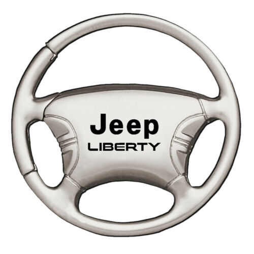 Steering Wheel Jeep Liberty Keychain /& Keyring