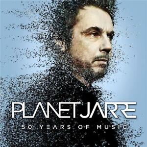 JEAN-MICHEL-JARRE-PLANET-JARRE-50-Years-of-Music-2-CD-NEW