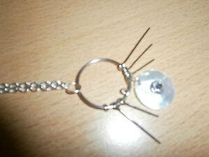 1 filigrane Halskette - silberfarben - rundem Anhänger - UND UNGETRAGEN - Lützelbach, Deutschland - 1 filigrane Halskette - silberfarben - rundem Anhänger - UND UNGETRAGEN - Lützelbach, Deutschland
