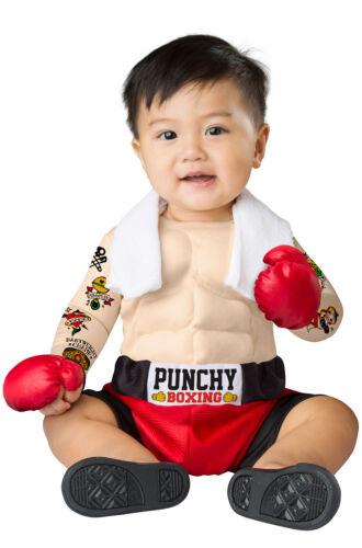 Brand New Baby Bruiser Boxing Champion Boxer Infant Costume