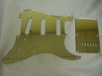 Fender Squier Strat Mirror Pickguard Set