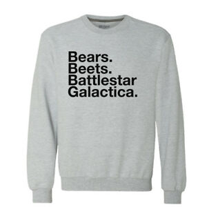 Bears Beets Battlestar Galactica Sweater Premium Cotton Office Co