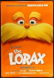 THE-LORAX-2-Sided-Bus-Shelter-Movie-Poster-4-039-x6-039-DrSeuss-Animation