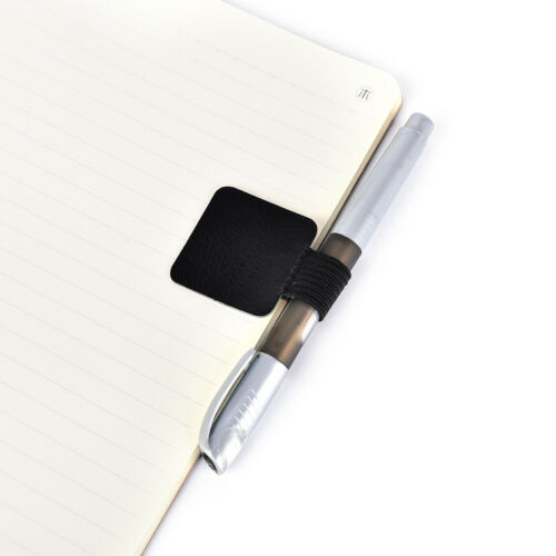 Self-adhesive PU Leather Pen Holder Clips Pen Travelers Notebook Diary BSBB