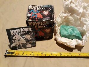 1977-Superman-Vintage-DC-Comics-Kryptonite-Rock-in-original-box