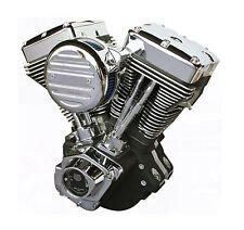 "ULTIMA BLACK 127"" ENGINE EVOLUTION HARLEY DYNA FXR SUPER GLIDE LOW RIDER EVO"