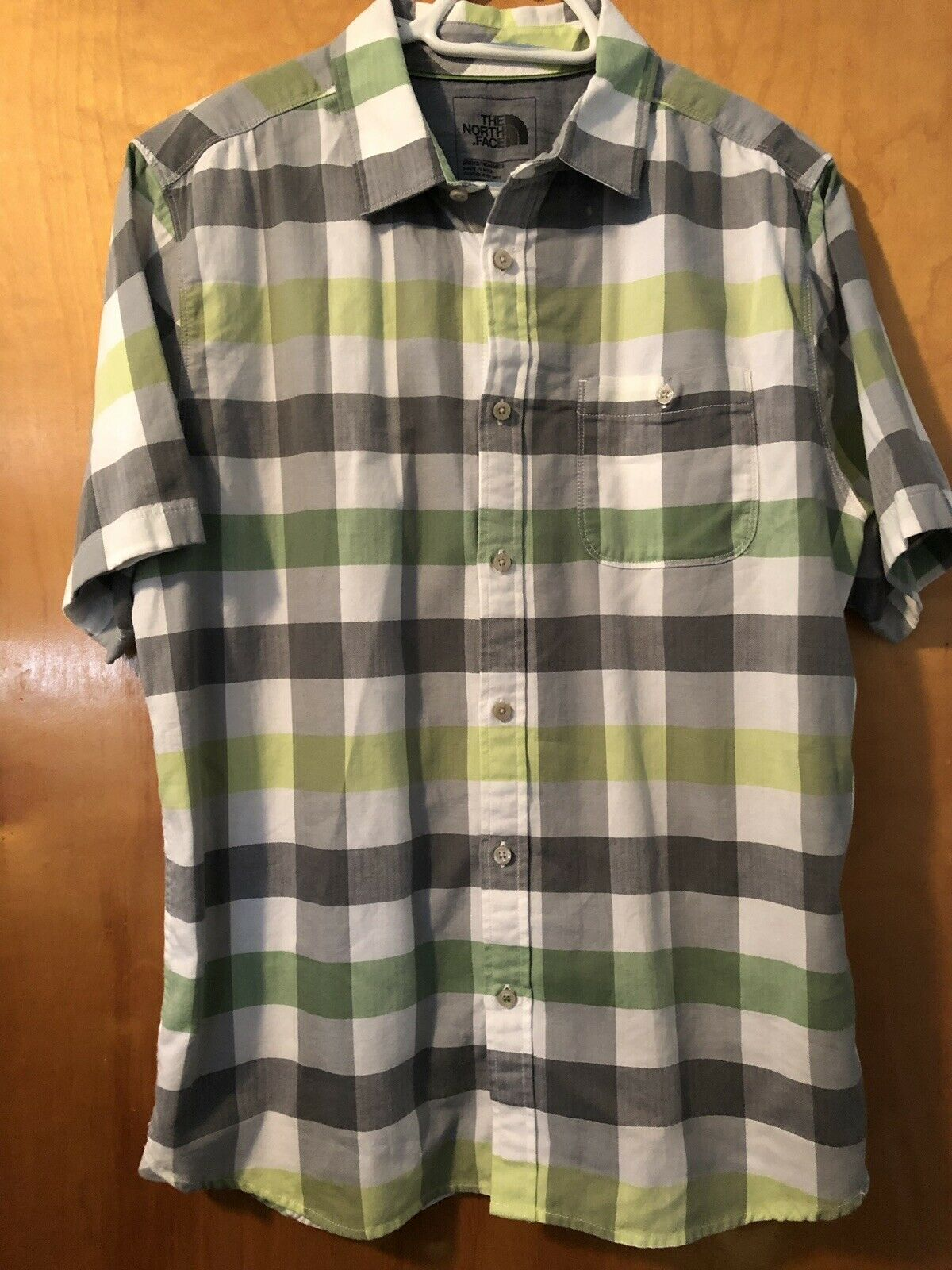 The North Face Short Sleeve Shirts (lot Of 2) Mens Size Large EUC