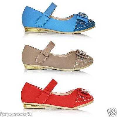 Christopher Natalia Diamante Chicas dos Cristal Boda CHILDS Plana Kids Zapatos del Reino Unido