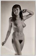 #31 RÖSSLER AKTFOTO 13 x 9 NUDE WOMAN STUDY * Vintage 50s Studio Photo - no PC