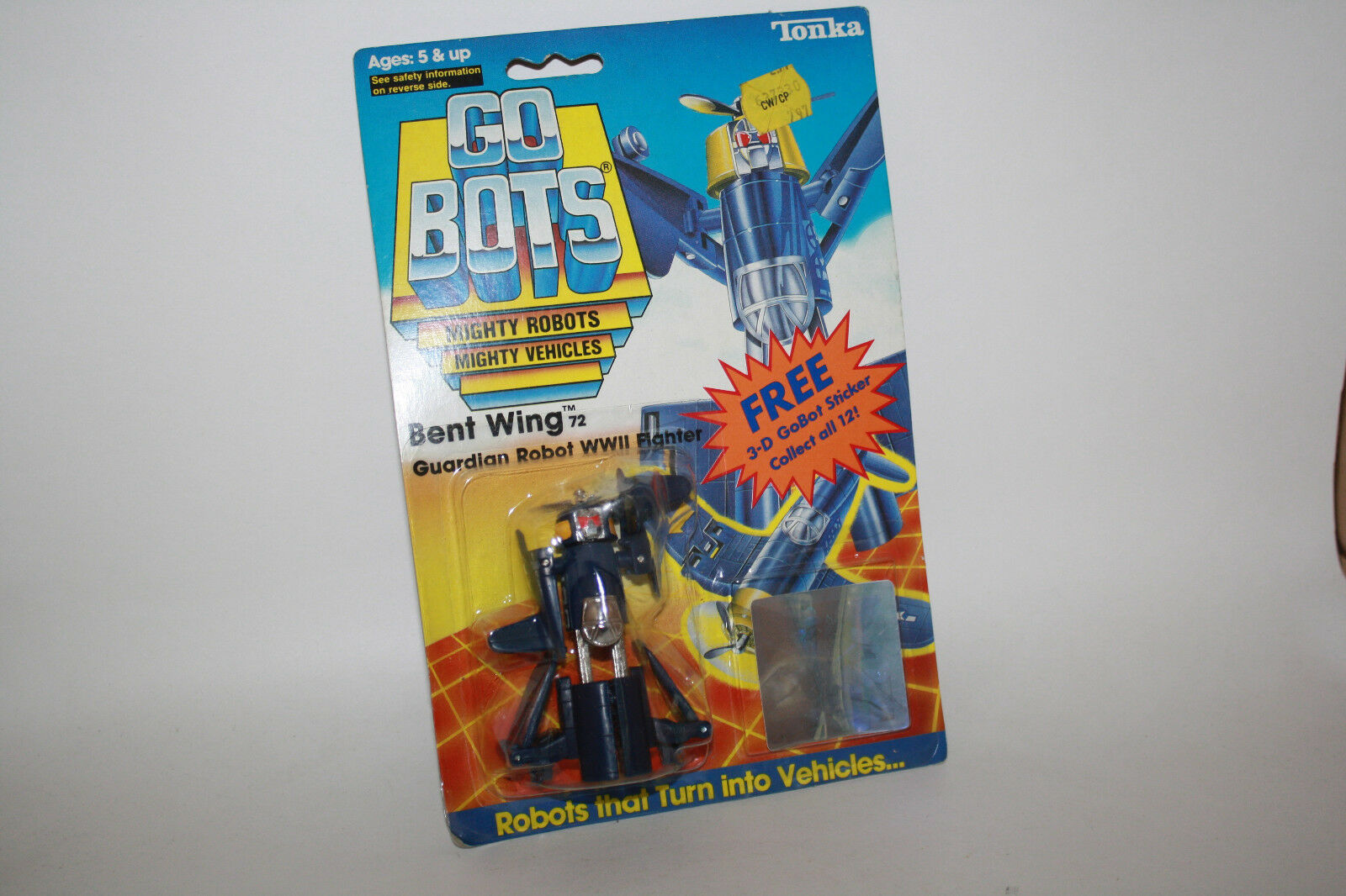 Vintage Tonka GoBots Bent Wing Guardian Robot Robot Robot WWII combatiente 72 MOC - R614 2df593