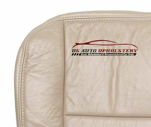 02 F-250 Lariat 7.3L Power Stroke Diesel *Driver Side Bottom Leather Seat TAN*